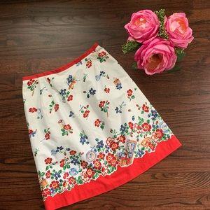 Vintage Picnic theme skirt, size 4